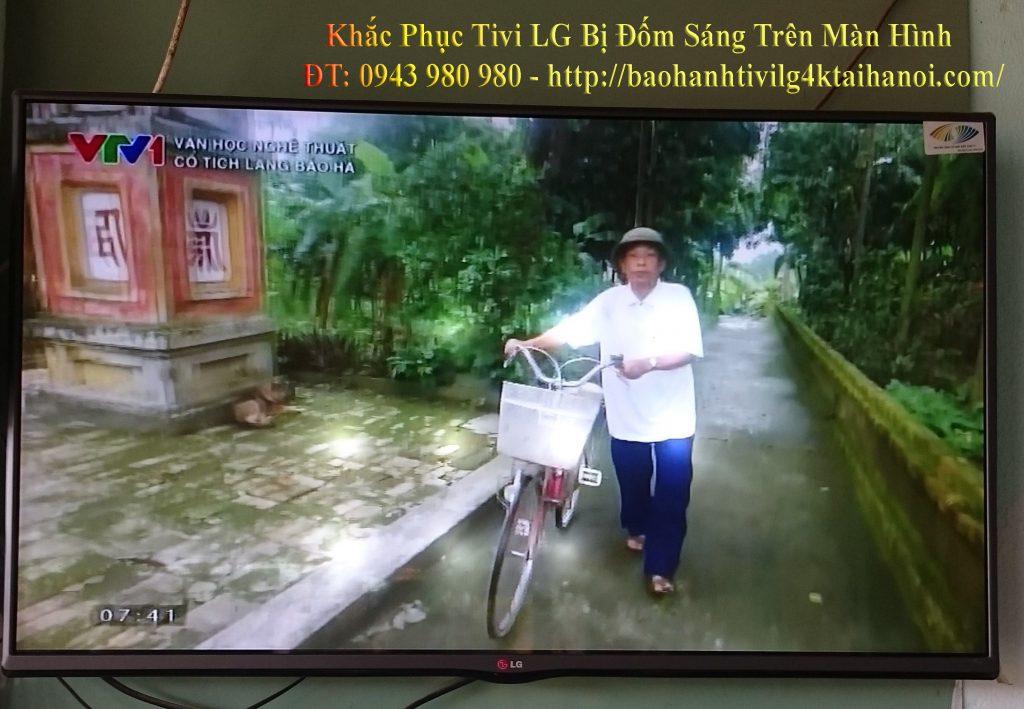 khắc phục tivi lg bị đốm sáng trên màn hình